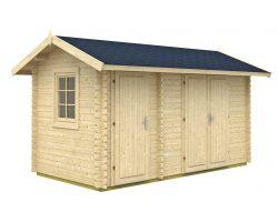 zahradny domcek zahradna chatka domcek na naradie drevena garaz