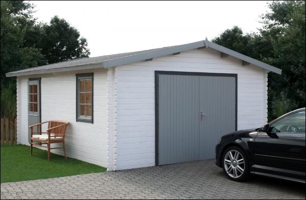 Drevena garaz B