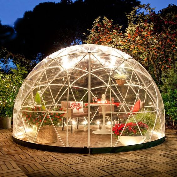 garden iglo
