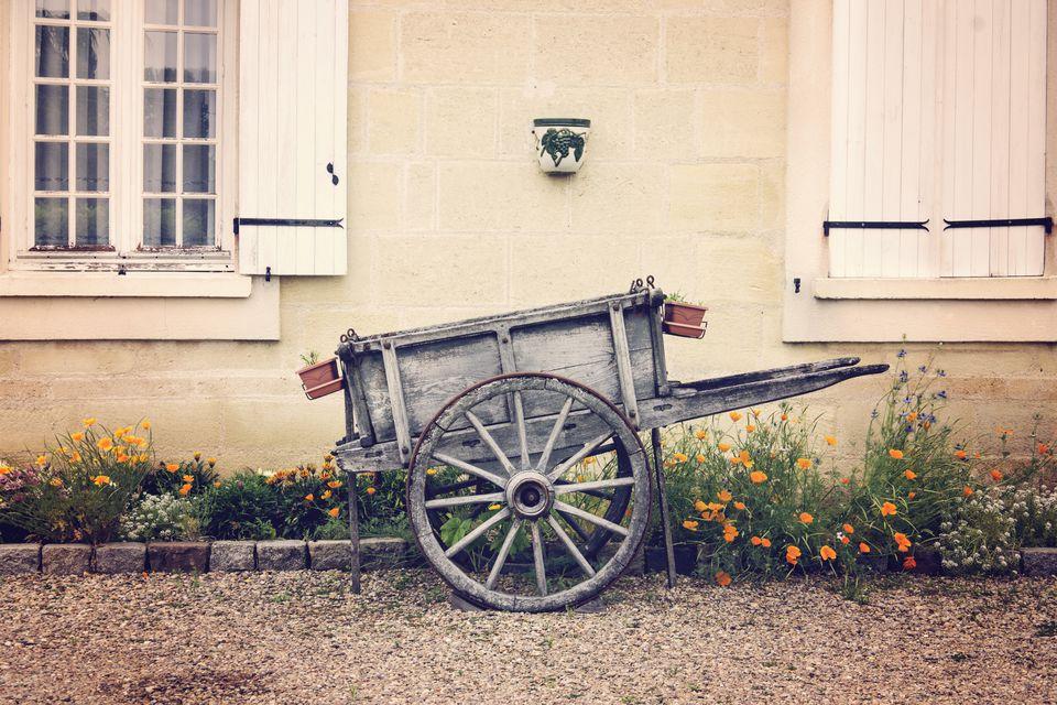 francuzsky štýl vozík