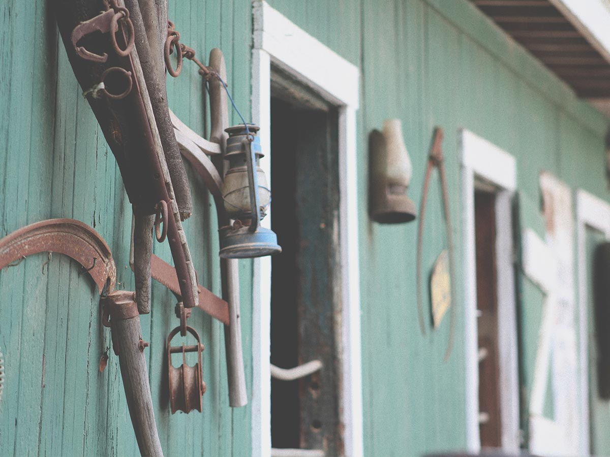 garden tool house