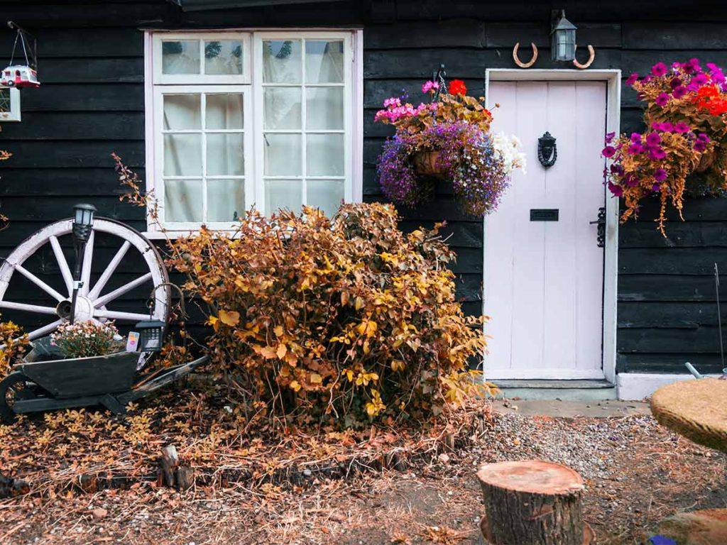 Jesenná chatka