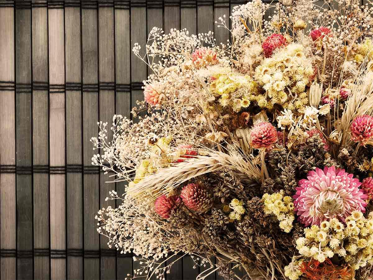 Kytica sušených kvetov
