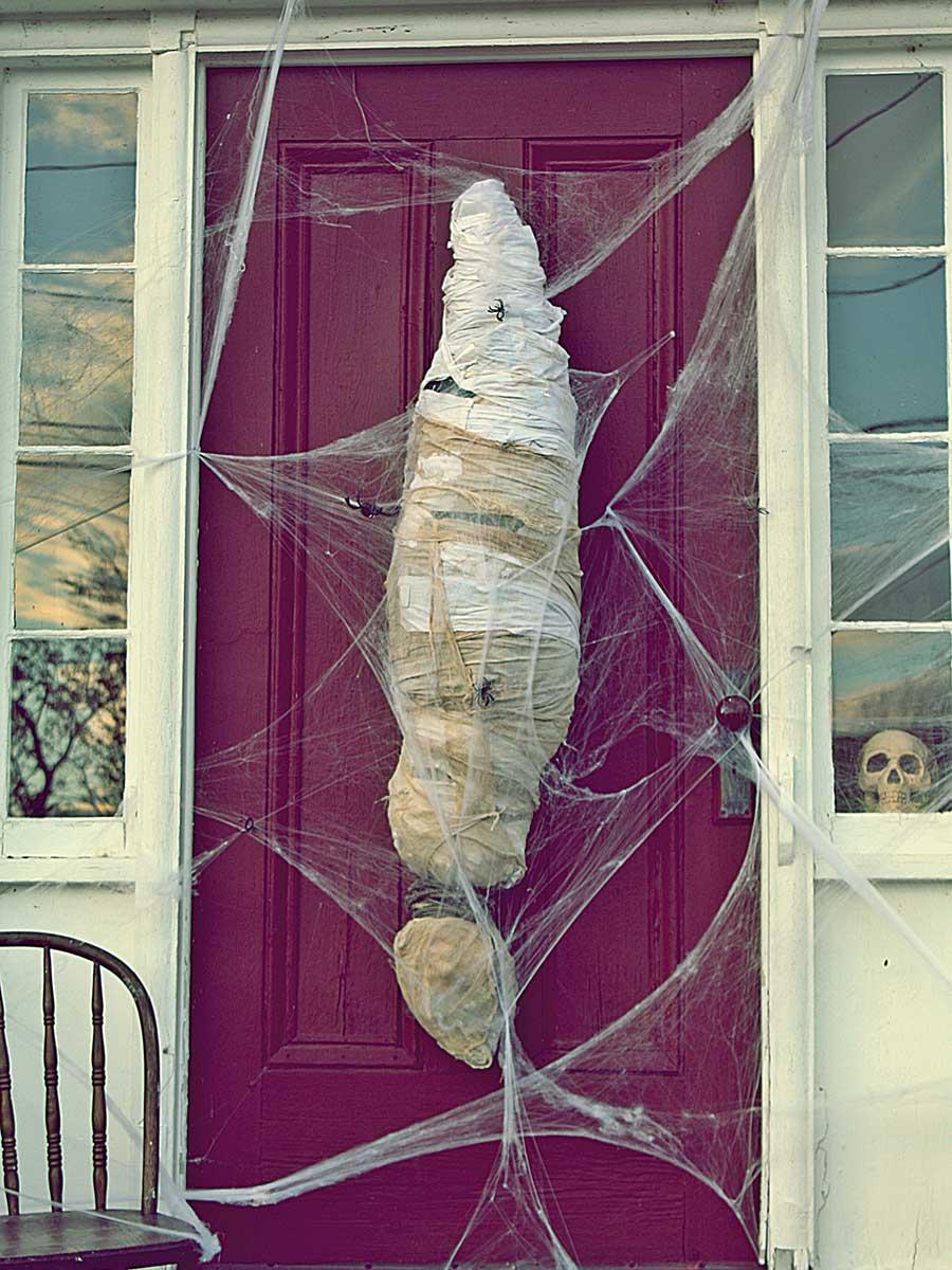 Strašidelné dvere