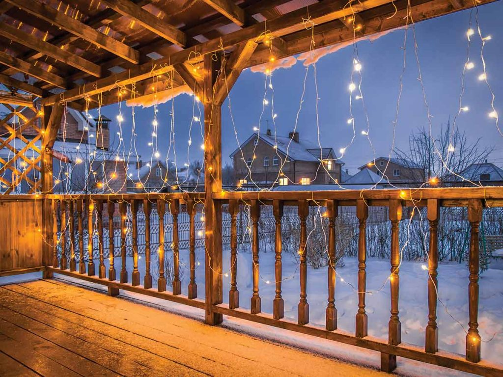 terasa na vianoce