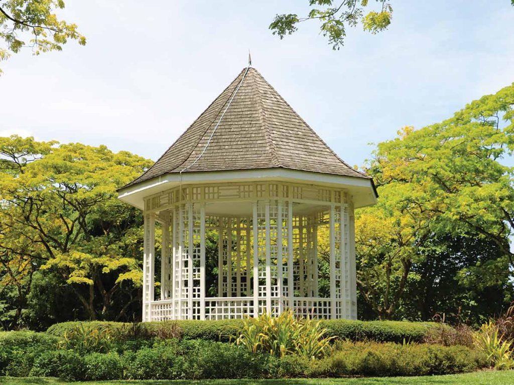 architecture garden gazebo