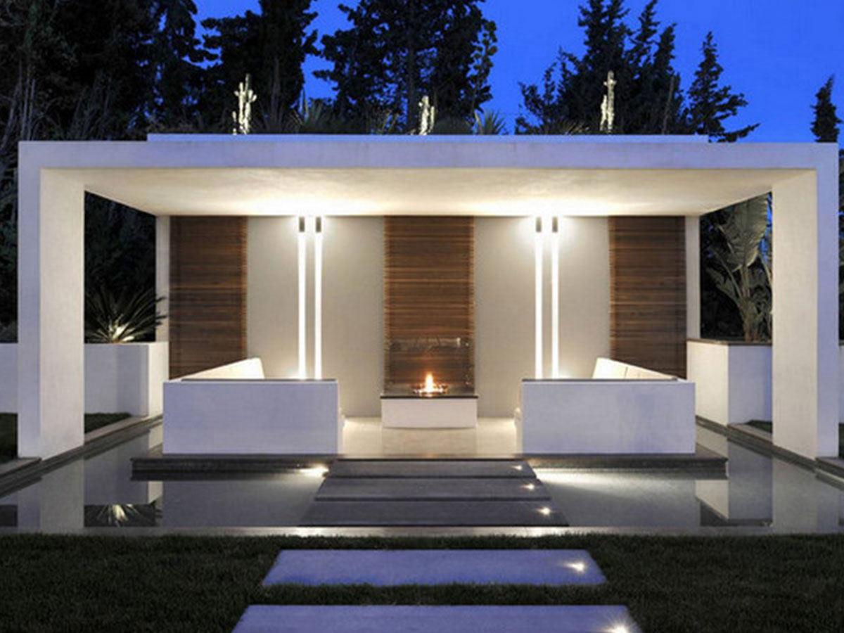 elegantný moderný altánok