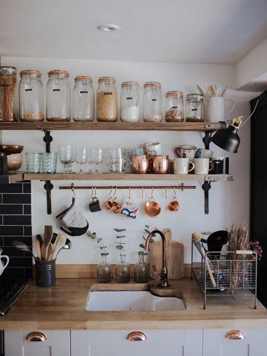 kuchňa v záhradnom domčeku