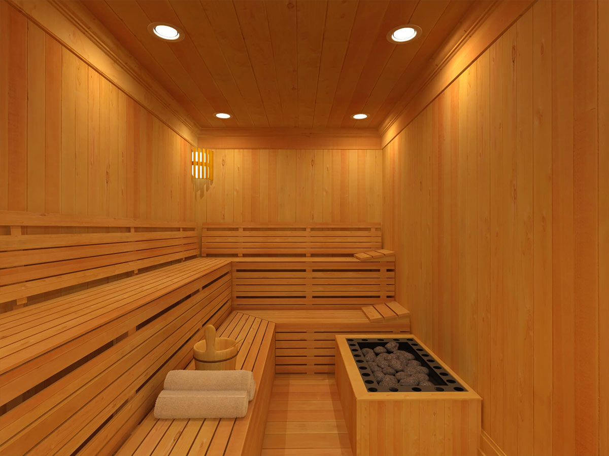 Drevená sauna