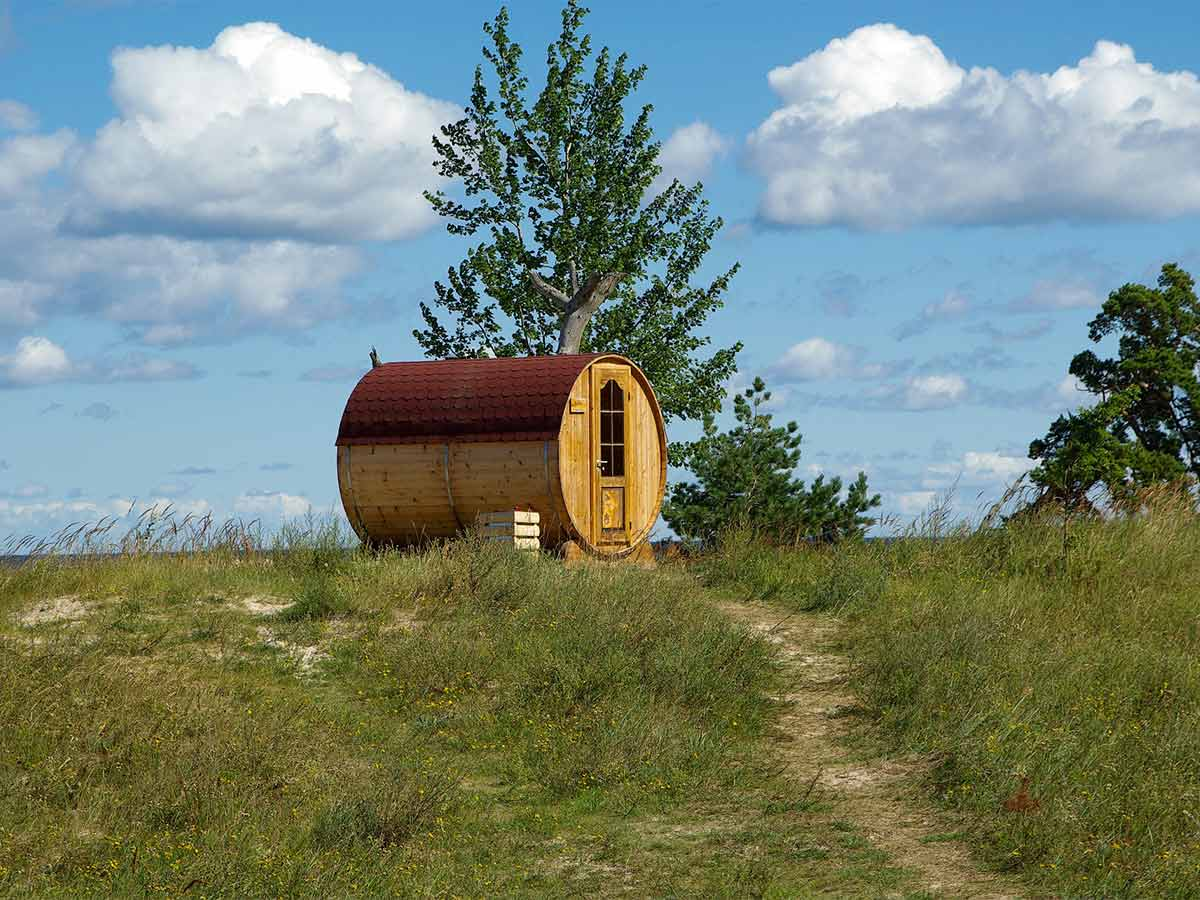 Exteriérová sauna