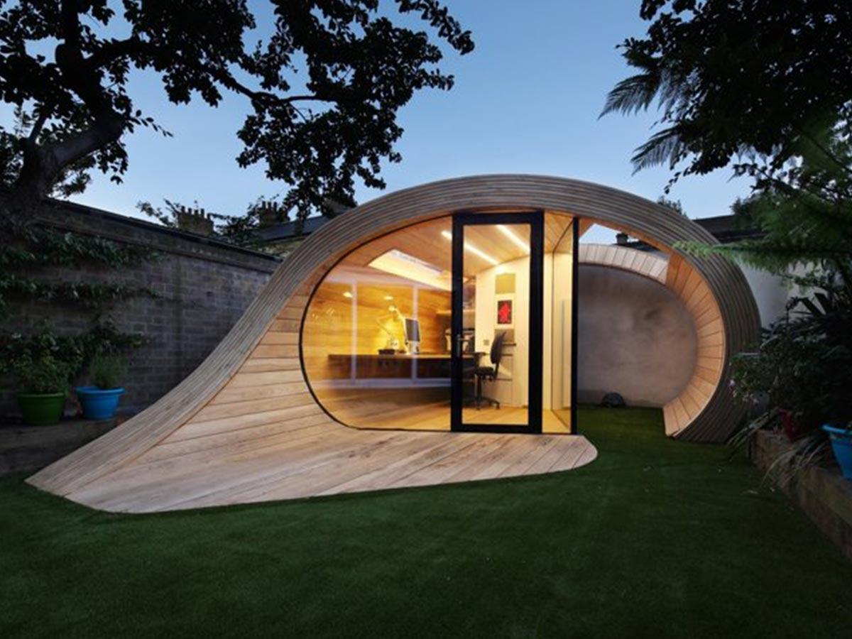 moderný záhradný domček