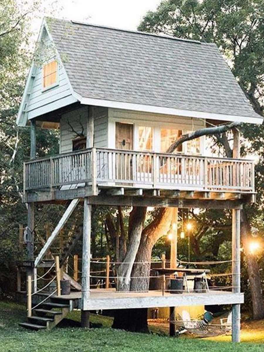 poschodový domček na strome