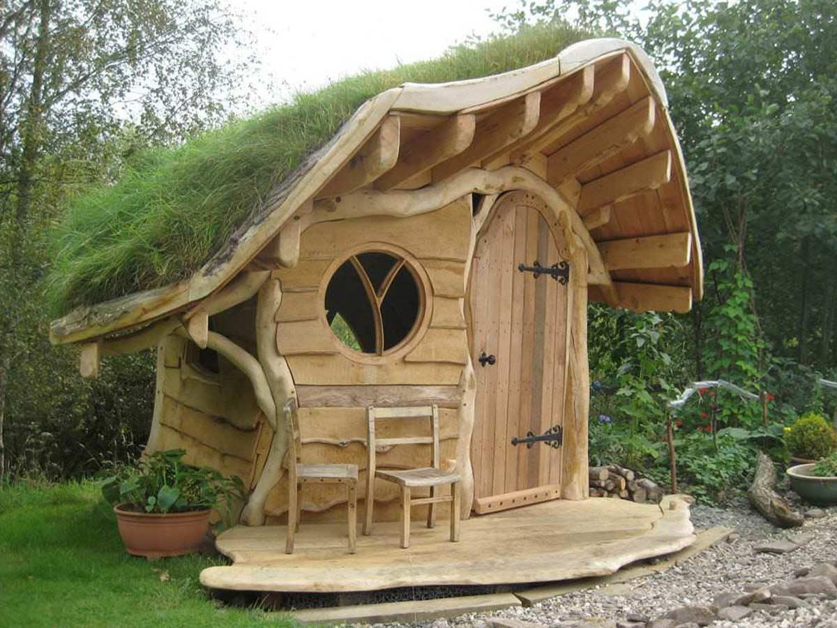 rozprávkový záhradný domček