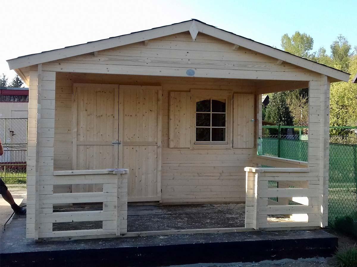 hotový záhradný domček