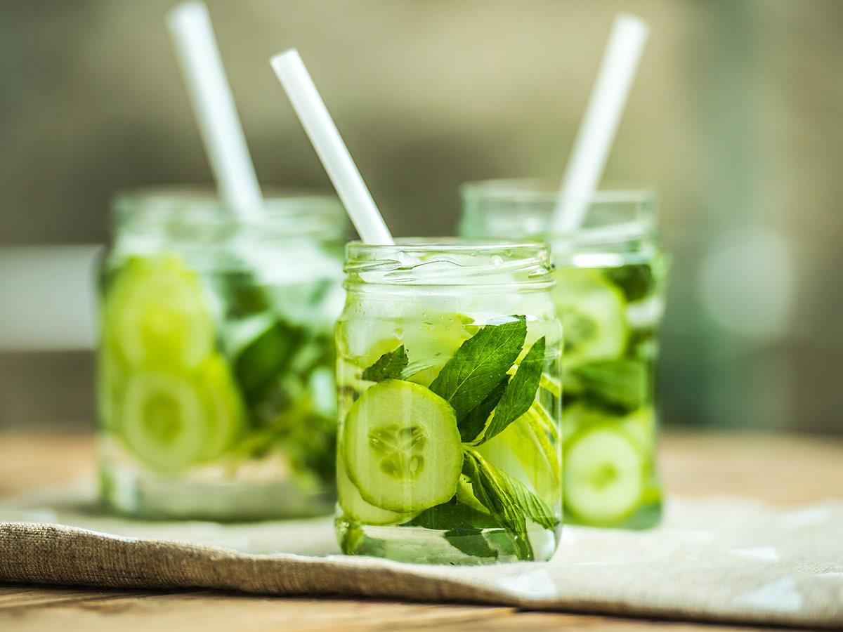 uhorková limonáda