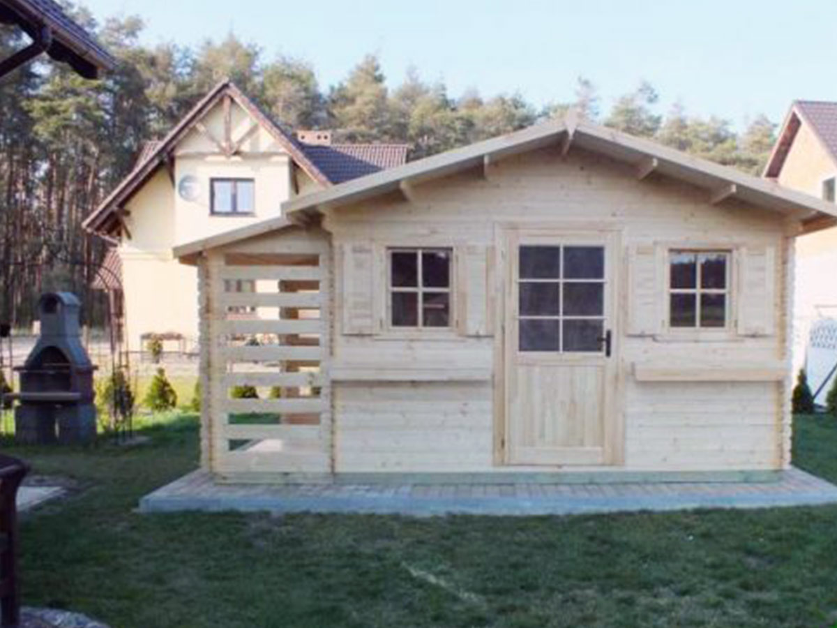 záhradný domček Pula