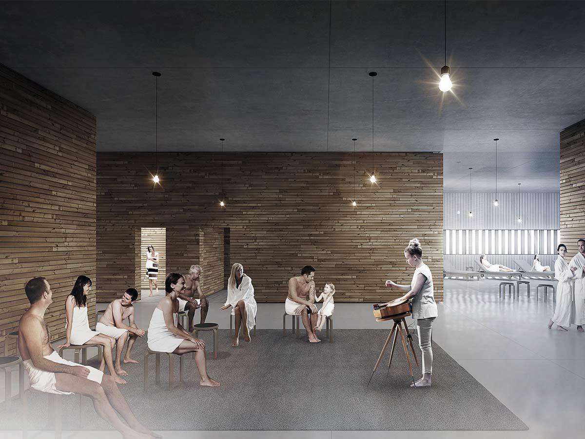 priestranna sauna