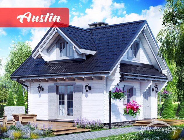 drevená chata Austin