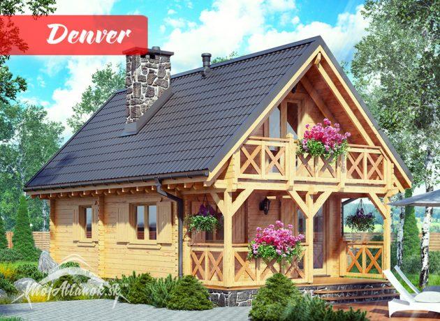 drevená chata Denver