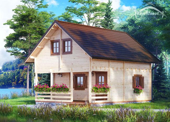 drevená chata Orlando