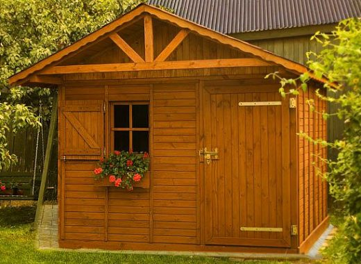 Záhradný domček KARPATY
