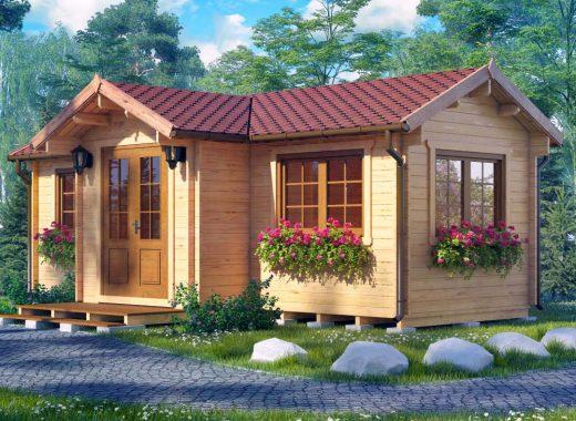 Záhradný domček KANSAS