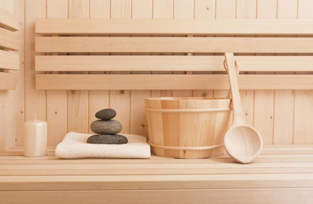 vybavenie do fínskej sauny