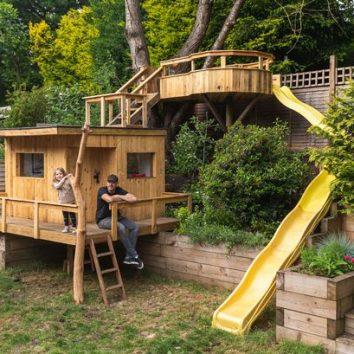 Netradičné využitie záhradného domčeka